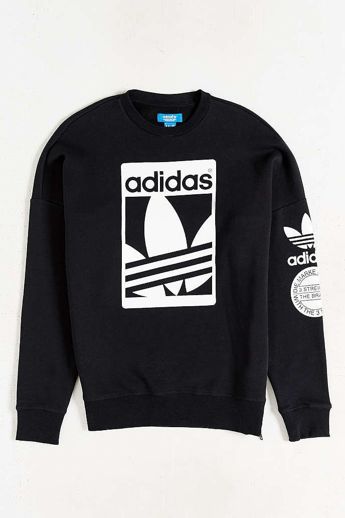 Shop adidas Originals Box Trefoil Graphic Sweatshirt at Urban Outfitters  today. We carry all the latest styles, colors and brands for you to choose  from ...