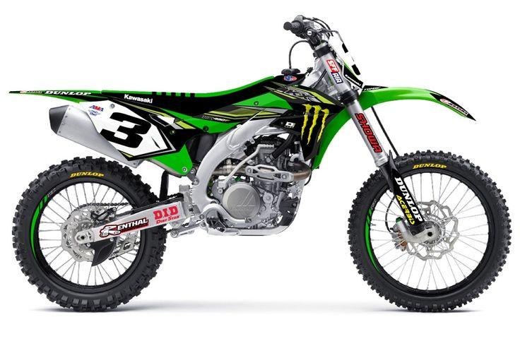 D'cor Visuals Monster Energy Kawasaki Team Replica.  www.itlcanada.com
