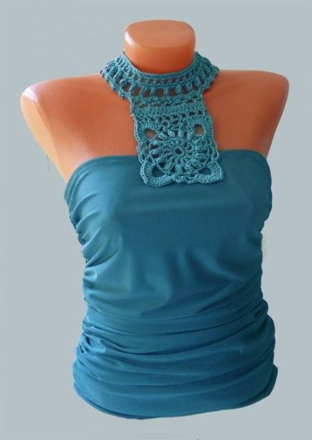 ao with <3 / easy to upcycle t-shirts with a few crochet stiches