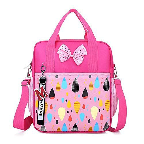 Children's School Bag Waterproof Primary School Crossbody Tote Backpack Bookbag Kids Girls Boys Preschool Primary Book Bag Student Backpack