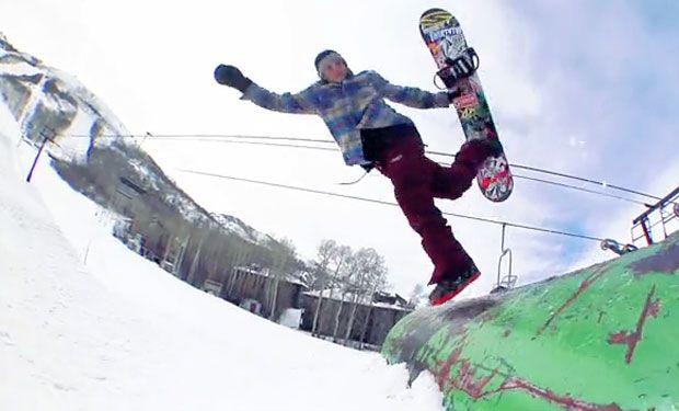 2014 - Sage Kotsenburg: Snowboarding