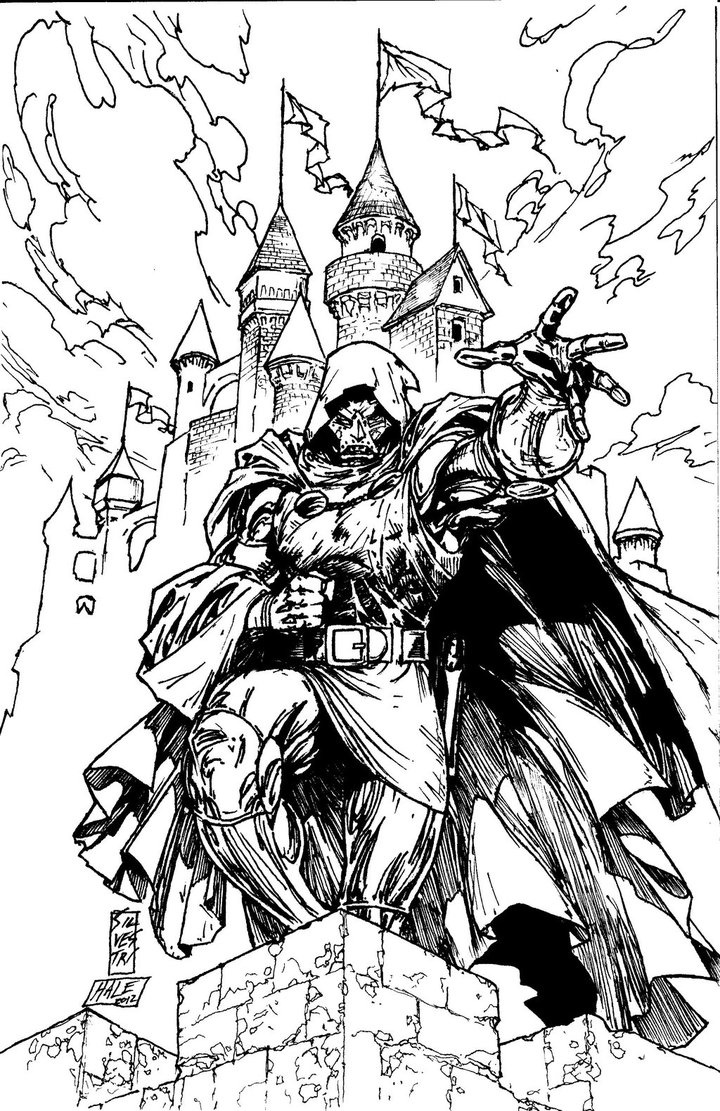 doctor doom by marc silvestri doctor doom pinterest