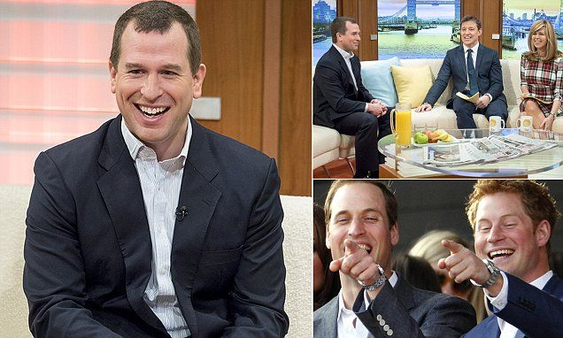 Peter Phillips says its 'strange' having the Queen as his ...
