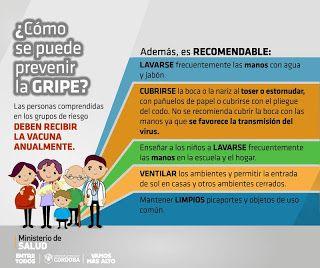 Así Somos: Colocan la vacuna antigripal gratuita en Deán Fune...