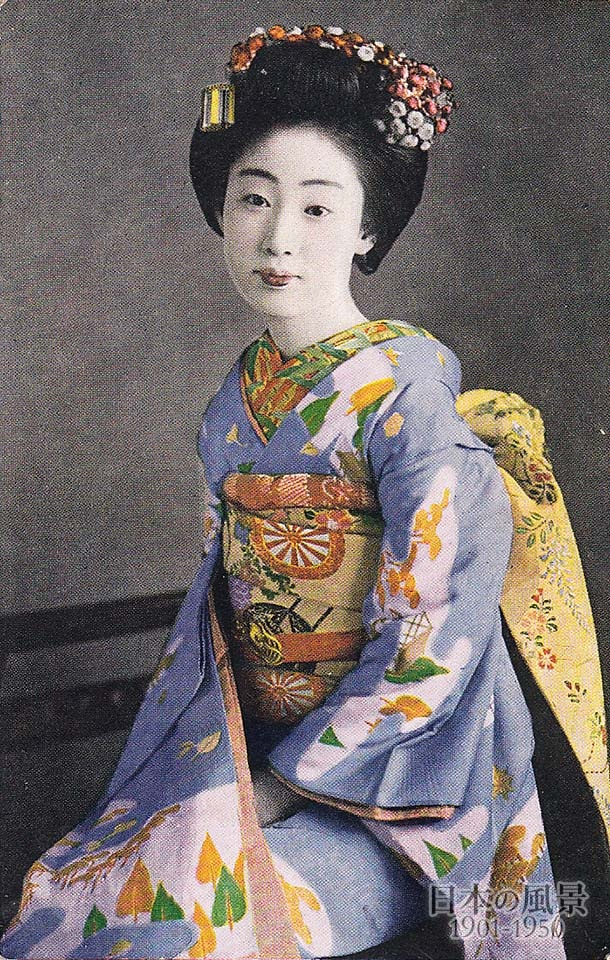 japanese hair styles geisha japan 1930s japanese culture 4731