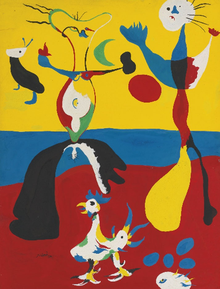 What Was Joan Miro S Most Famous Painting