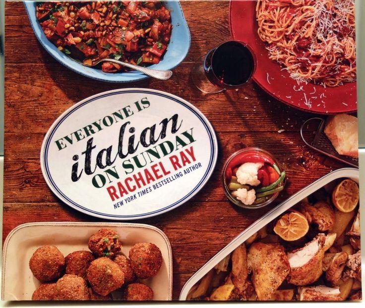 Everyone Is Italian on Sunday Cookbook by Rachael Ray (2015, Hardcover)  #RachaelRay #rachaelraycookbook