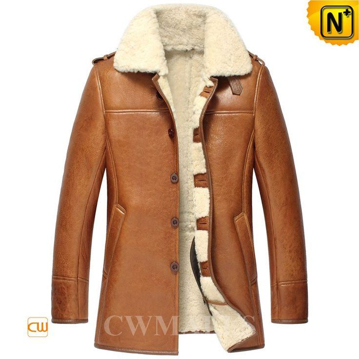 Best 20  Mens shearling jacket ideas on Pinterest   Jackets for ...