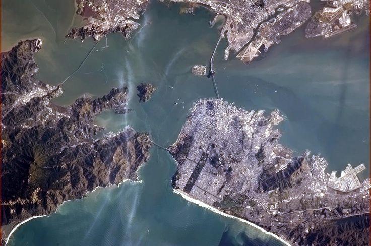 Twitter / Cmdr_Hadfield: The Golden Gate Bridge