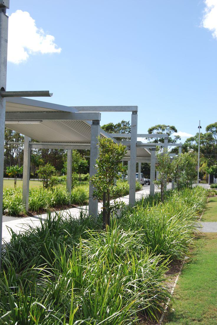 Ritek Roof Panels used at this school for walkways.