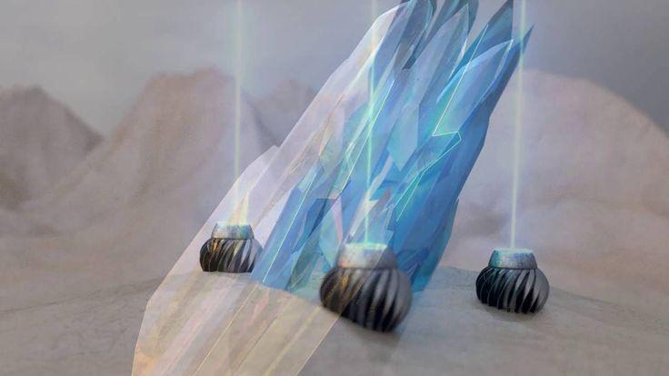 Cinema 4D   Arnold Render Crystal Update
