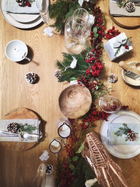 Citta Design Christmas table styling by Annique Heesen