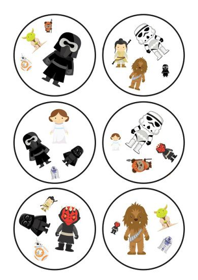 Dobble game Star Wars