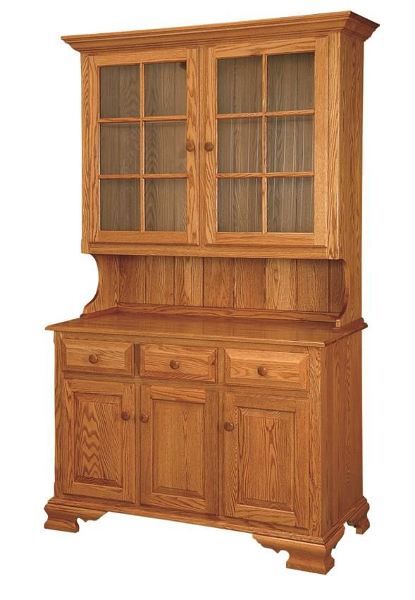 "Amish 50"" China Hutch"