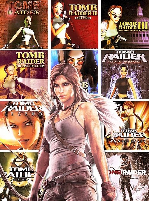 All the Tomb Raider