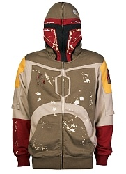 because my husband is awesome, he got me this Boba Fett hoodie for xmas