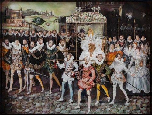 Την Κυριακή, επισκεπτόμαστε την έκθεση ζωγραφικής & κατασκευών της Μαρίας Αποστόλου με τίτλο «Μεταμφιέσεις». Εμπνευσμένη από υπαρκτά πρόσωπα που γίνονται ιππότες ή μορφές αναγεννησιακές, φιγούρες καρναβαλιού που θυμήζουν Commedia dell' Arte και εικόνες από τον Gheeraerts και τον Manet. Στοιχεία που εκφράζουν την οπτική του δημιουργού, την αυθόρμητη διάθεση του, με ένα κράμα λυρισμού, ρομαντισμού και υποδόριου humor.  Titanium Yiayiannos Gallery, Βασιλέως Κωνσταντίνου 44, Αθήνα, τηλ…