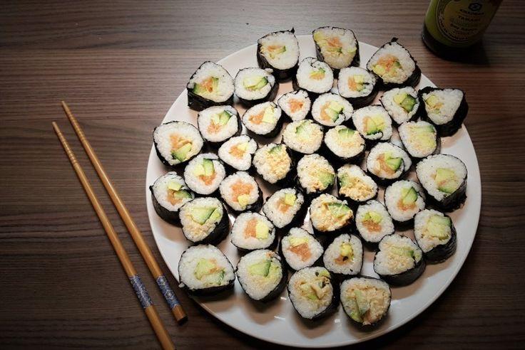 zelf glutenvrije sushi maken