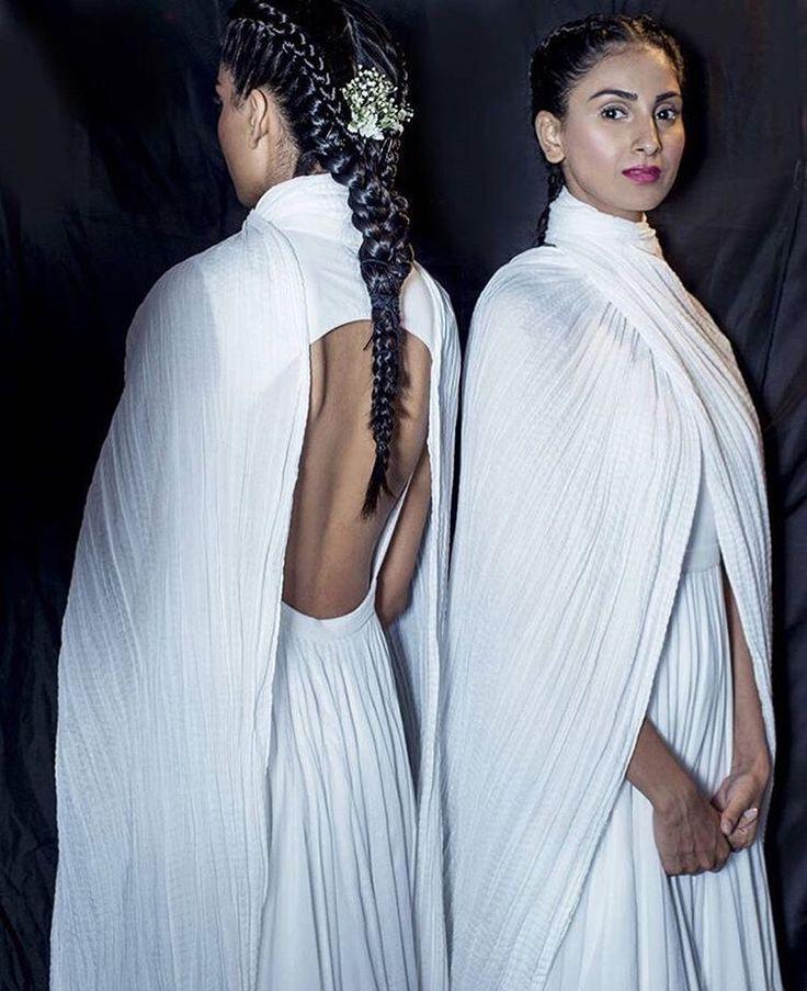 Anita Dongre # sexy back # white fever # fashion