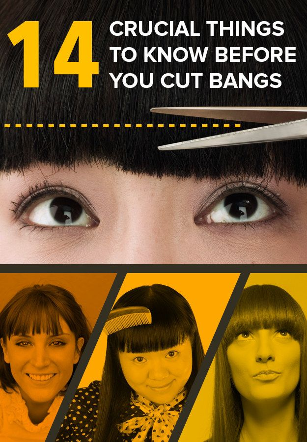 how to cut your side fringe yourself