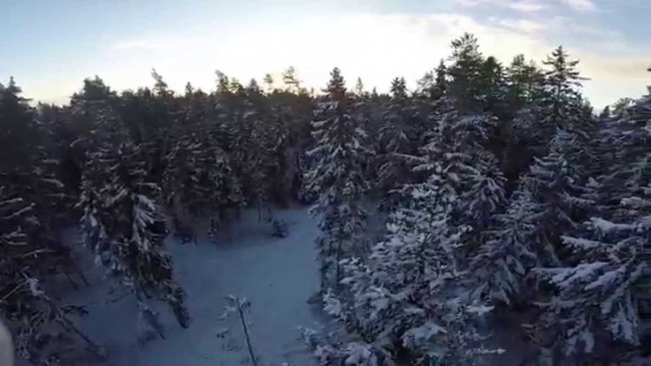 DJI Phantom 2 - Winter Scenes - Finland - GoPro & Panasonic GH4