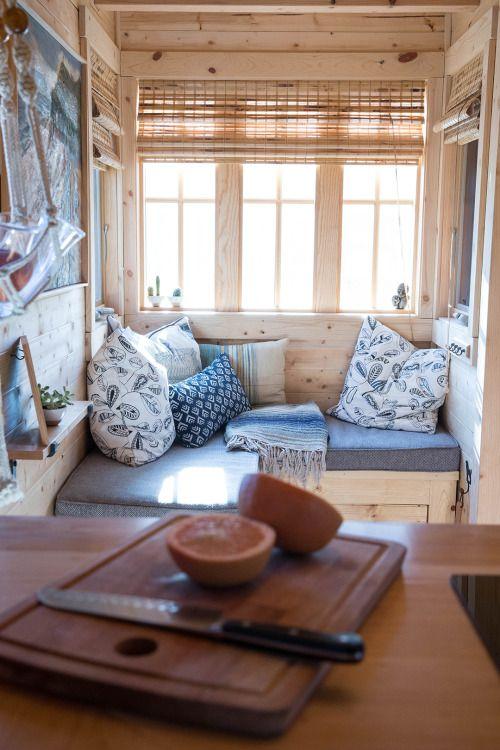 Tiny House Sitting Area #tiny Living #tiny House #u2026 Ideen Für Dein Tiny