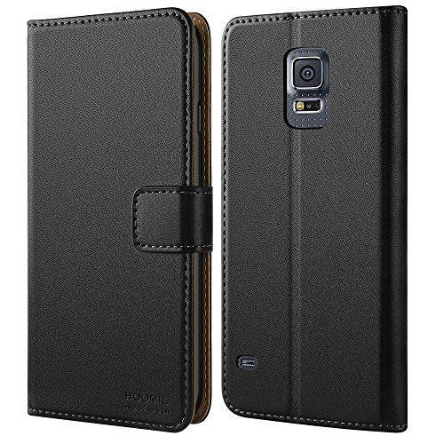 Galaxy S5 Hülle,HOOMIL Premium Handy Schutzhülle für Samsung Galaxy S5 / S5 Neo Hülle Leder Wallet Tasche Flip Brieftasche Etui Schale, Schwarz (H3001) #Galaxy #Hülle,HOOMIL #Premium #Handy #Schutzhülle #für #Samsung #Hülle #Leder #Wallet #Tasche #Flip #Brieftasche #Etui #Schale, #Schwarz