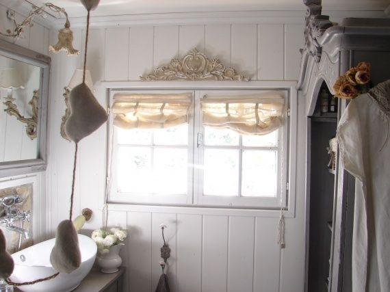 Salle de bains romantique shabby deco charme
