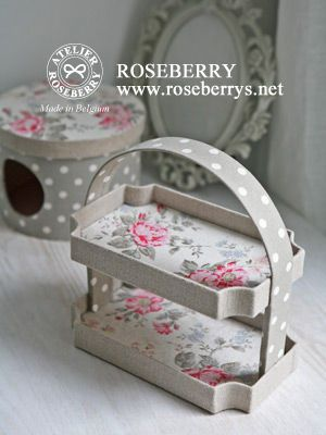 ROSEBERRY DIARY ~ベルギーでカルトナージュ♪~ sadly not a tutorial