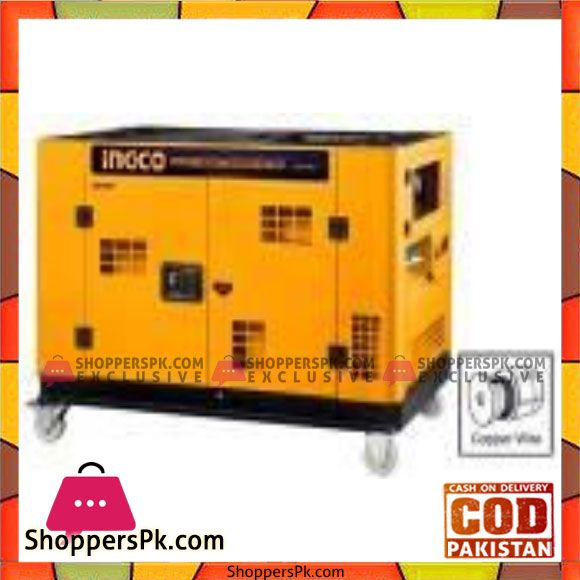 Buy Ingco Super Silent Diesel Generator Gse100k2 Karachi Only At Best Price In Pakistan Diesel Generators Diesel Alternator