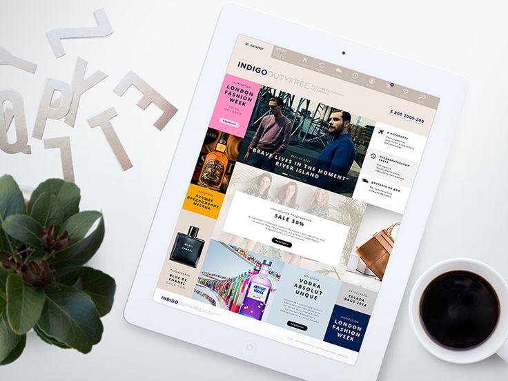 Online Store Indigo by Elena Saharova