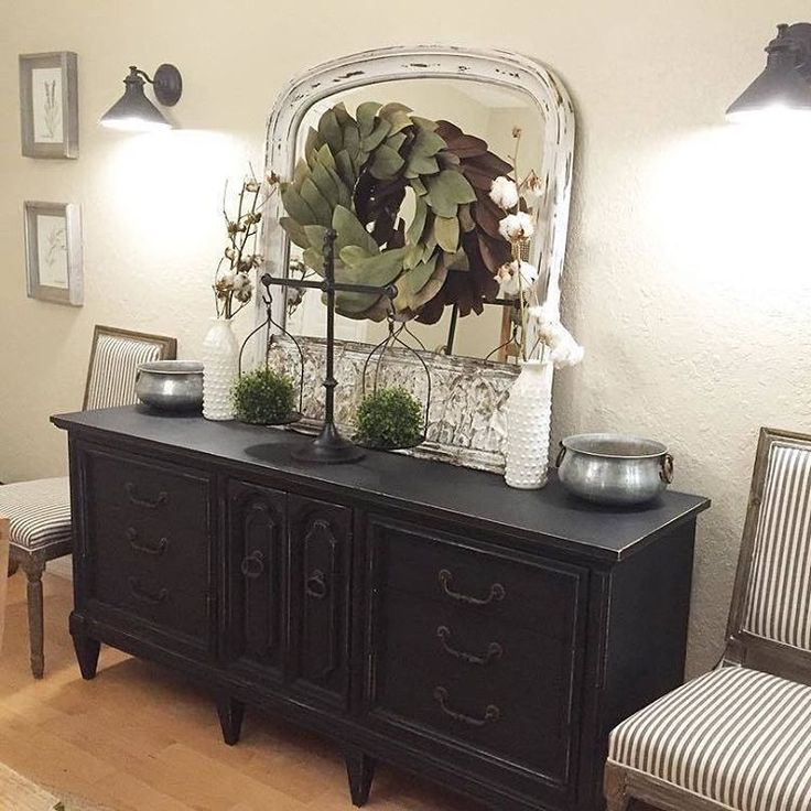 Simply beautiful Meg! Love that black sideboard. Thanks for including our Balance Scale in your design:  #homedecor