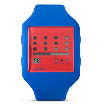 Zub Zot Watch Navy Red, $59, now featured on Fab.