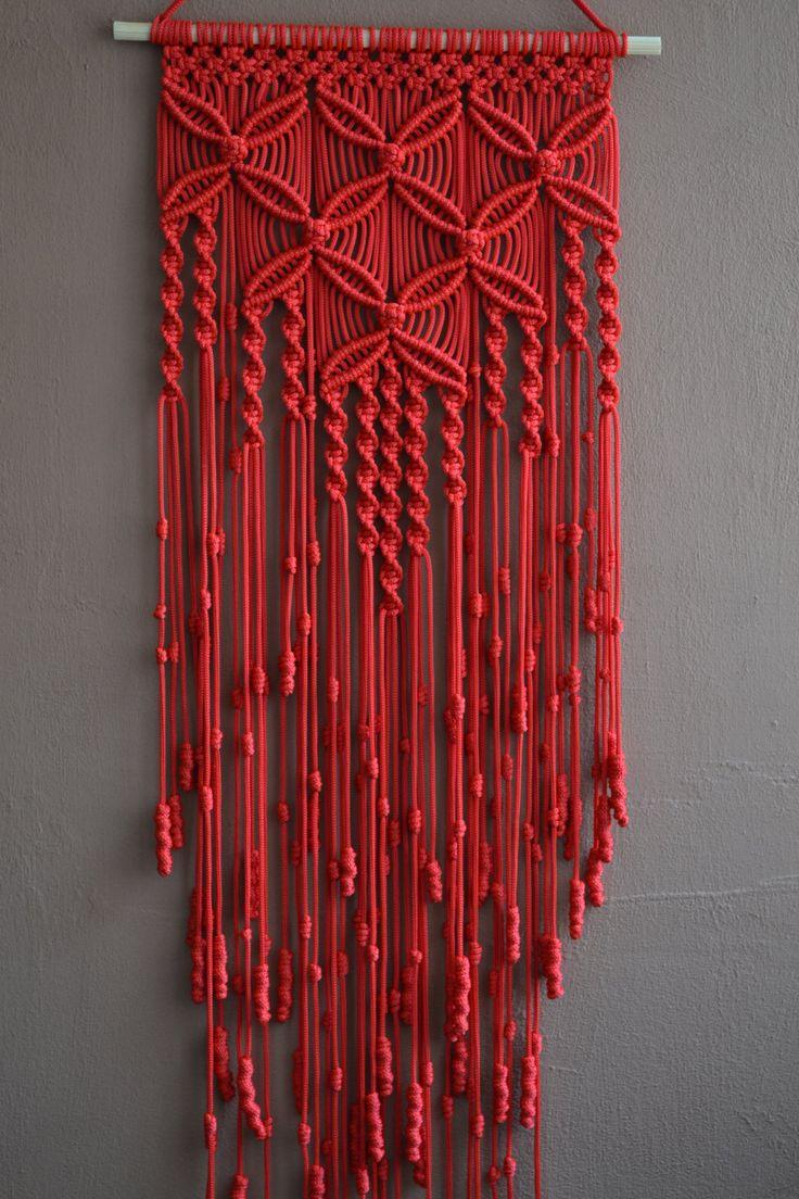 273 best macrame wall hanging images on pinterest. Black Bedroom Furniture Sets. Home Design Ideas
