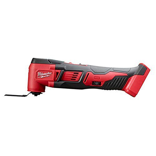 Milwaukee 2626-20 M18 18V Lithium Ion Cordless 18,000 OPM Orbiting Multi Tool with Woodcutting Blades and Sanding Pad
