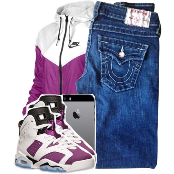 Stay Cla$$y by tonibalogni on Polyvore featuring polyvore, fashion, style, True Religion and NIKE