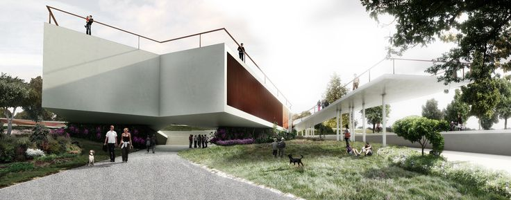 Competition MP by SIMPRAXIS architects | MORFO visualisations