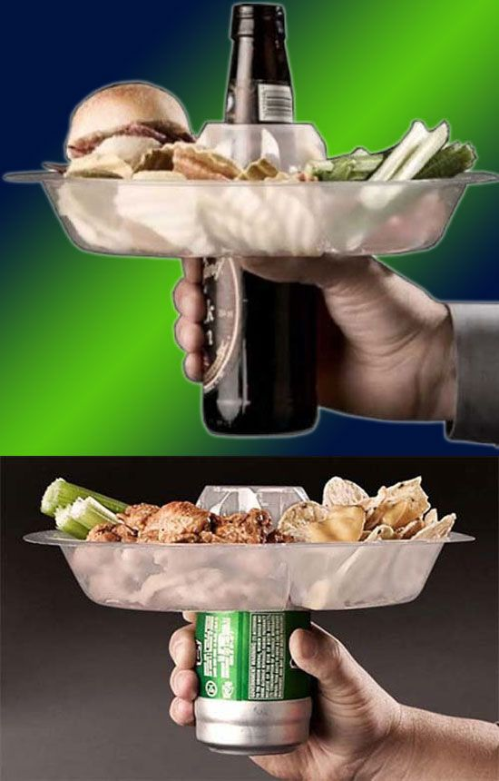 The Go Plate – 10 count::  Imagine this. It's game day and you have all the necessities prepared for your eating and drinking, ravenous adventures soon to come. You load up your plate with buffalo win