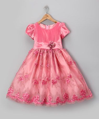 Take a look at this Royal Rose Organza Flower Dress - Infant, Toddler & Girls by Kid Fashion on #zulily today!