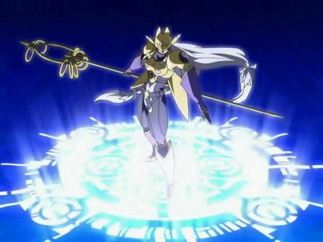 Sakuyamon - Digimon Tamers, she's like a purple and gold cat woman, it is so cool!!!