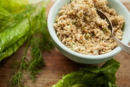 Mock Tuna Salad | Whole Foods Market #vegan: Mocking Tuna, Whole Foods Market, Seeds Bas, Whole Food Marketing, Tuna Salad Recipes, Healthy Eating Recipes, Savory Recipes, Tasti Nut, Assort Veggies