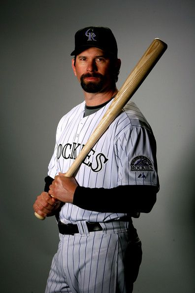 Todd Helton - Colorado Rockies  Will forever and always be my favorite player.