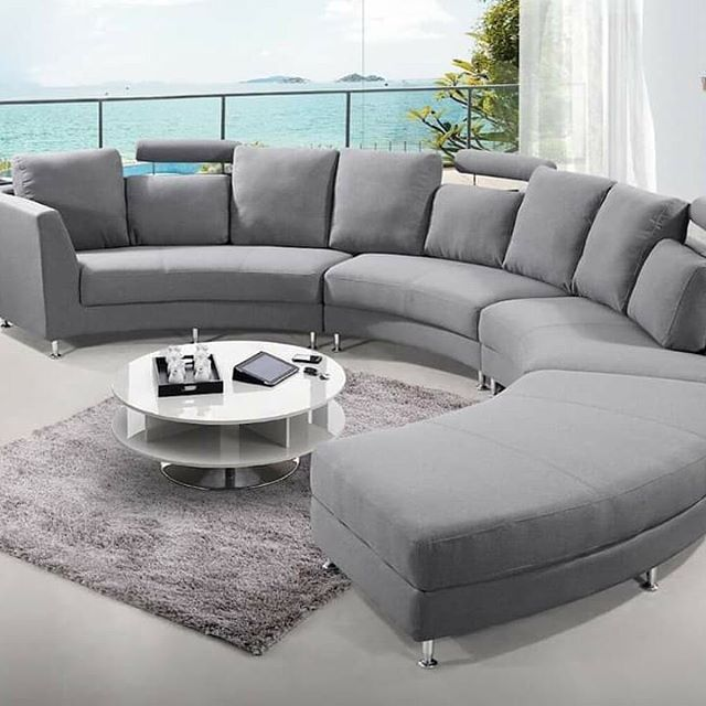 Popular 2 Story Small House Designs In The Philippines The Architecture Designs Sofa Design Contemporary Sofa Design Curved Sofa