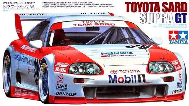 Boxart Toyota Sard Supra GT 24167 Tamiya