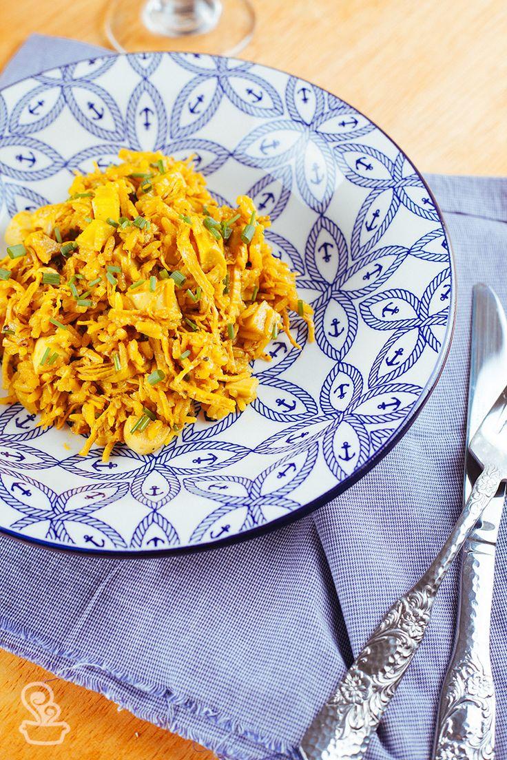 essa receita de arroz de frango e açafrão é super simples e versátil! e você ainda pode incrementar do seu jeito! Vem ver!