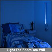 Star Wars Remote Controlled Lightsaber Room Light - Want this for Zack, soooo cool