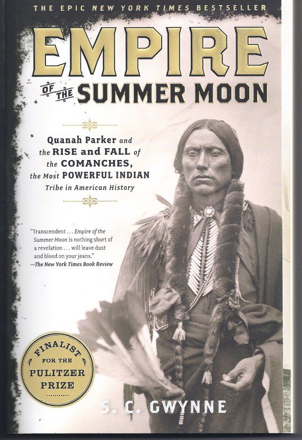 Empire of the Summer Moon. Great book. Cynthia Ann Parker captured by Commanches in 1836. Son Quanah Parker went on to become chief of the Commanches. Must read.