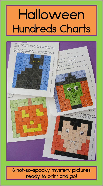 129 best hundreds chart coloring images on pinterest hundreds halloween hundreds chart mystery pictures nvjuhfo Choice Image