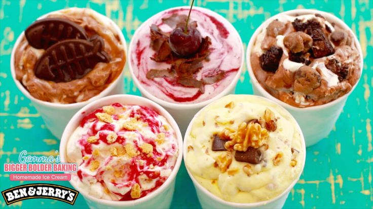Ben & Jerry's, Ice Cream, Homemade Ice Cream, Gemma Stafford, Bigger Bolder Baking, Recipes