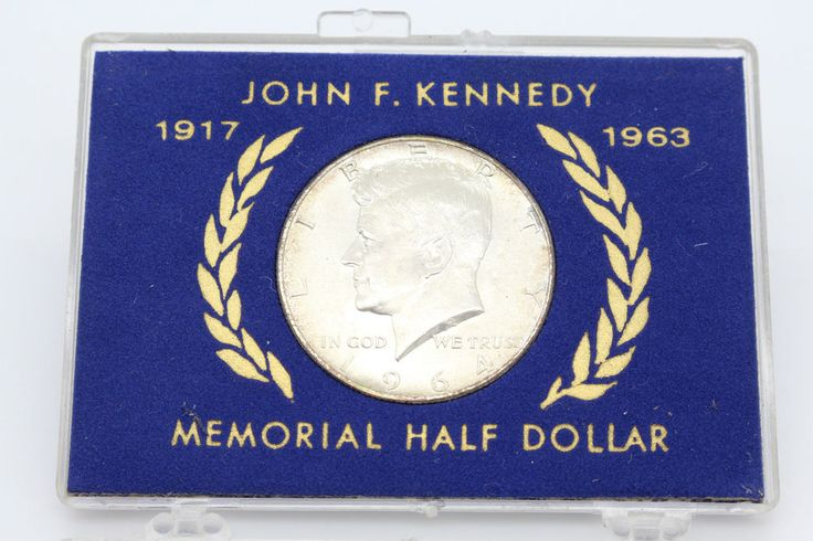 John F Kennedy 1917 1963 Memorial Silver Half Dollar
